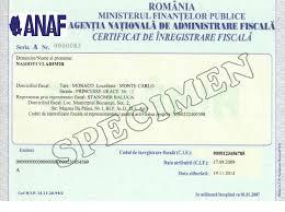Jurisdiction's name: Romania Information on Tax Identification Numbers Section I - TIN Description Please provide a narrati