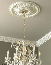ceiling medallions for chandeliers amazing small medallion install a notebook decorating ideas 1