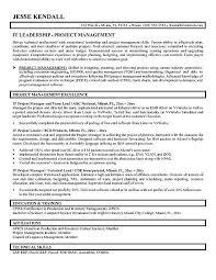 Project Management Resume Skills Rome Fontanacountryinn Com