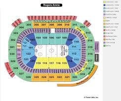 Rogers Arena Vancouver Bc Seating Chart View