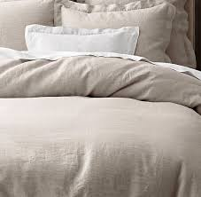 vintage washed belgian linen bedding collection restoration hardware love