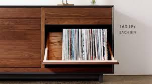 stylish lp storage cabinet record storage cabinet cymun designs