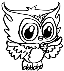 Cute Owl Coloring Pages Getcoloringpagescom