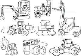construction coloring book construction vehicle coloring pages construction coloring page free printable pages vehicles drawing free