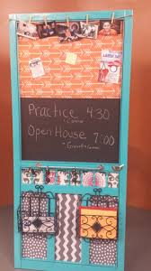 Kitchen Message Board By Recycling A Wooden Screen Door She Creates Beautiful
