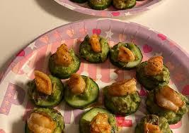 Recipe of Quick Guacamole Shrimp Cucumber Bites   Best Recipes US