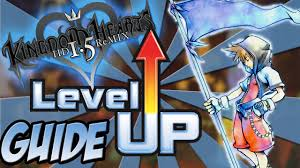 Kingdom Hearts Hd 1 5 Remix How To Level Up Fast And Easy Kingdom Hearts Final Mix