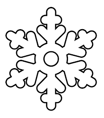 Small Picture Snowflake Coloring Pages Wecoloringpage