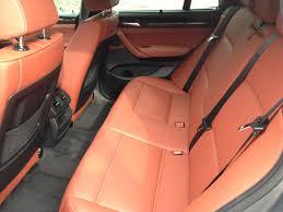 2016 bmw x3 28i interior rear seat