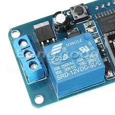 geekcreit® dc v led Дисплей Модуль таймер задержки Контрольный  geekcreit® dc 12v led Дисплей Модуль таймер задержки Контрольный переключатель Цифровой таймер