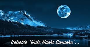 ᐅ Beliebte Gute Nacht Sprüche