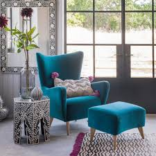 Furniture Chic Wingback Chairs To plete Your fortable