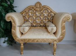 Ornate Bedroom Chairs Search Results Hampshire Barn Interiors Chaise Longue