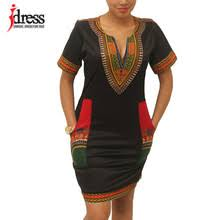 Best value <b>Dashiki African Dresses for</b> Women Free Size – Great ...