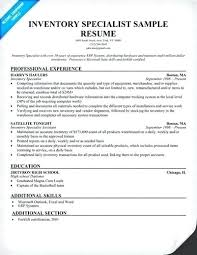Ideas Collection Inventory Control Specialist Resume Creative Supply Cool Inventory Control Resume