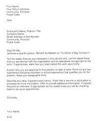 Sample Covering Letter For Job Application Samples Of Cover Letters For Jobs Example Cover Letter Job Sample