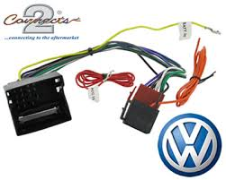 vw golf mk6 car stereo radio wiring harness adapter iso lead vw golf mk6 car stereo radio wiring harness adapter iso lead