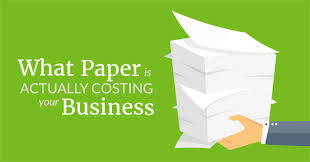 Business Paper What Paper Is Actually Costing Your Business Ebook By Device Magic