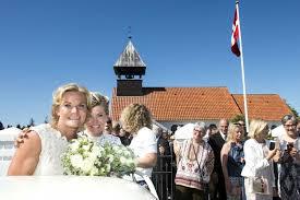 Denmark first lesbian couple