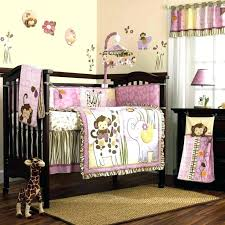 monkey baby nursery bedding sets for cribs room excellent crib cute girl