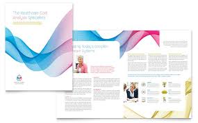 microsoft office catalog templates insurance consulting brochure template design