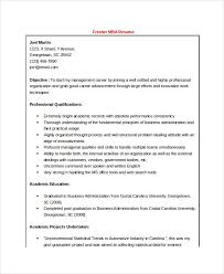 Best Resume Formats - 47+free Samples, Examples, Format | Free