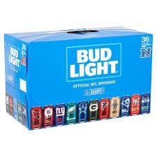 Bud Light Nfl 36 Pack 2017 Bud Light Lager Beer 36 Pack 12 Fl Oz Cans Walmart Com