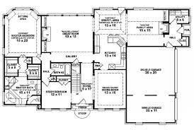 4 bedroom floor plans one story floor plan garage spaces width bedroom house plans floor plan