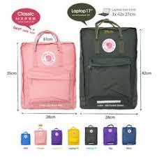 Fjallraven Us Size Chart 13 Best Kanken Size Guide Images Kanken Backpack