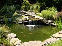 Pond Edges Design 25 Pond Waterfall Designs And Ideas