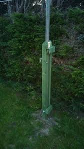 scaffold pole tilt over mast cost 30 including the pole one hour to