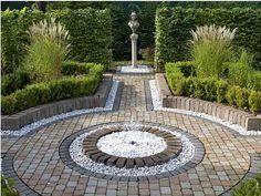 Small Picture pebble garden ideas pebble paving garden patio designs uk