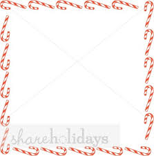 christmas menu borders square candy canes border christmas borders