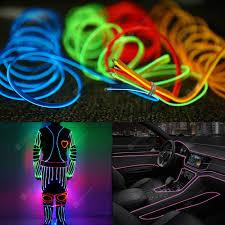 Car Atmosphere Light Price Gocomma Cool Waterproof Led Strip Light Wire Tube Neon Light Inside Atmosphere Light Decoration Car Interior