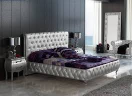 esf 623 lorena silver on tufted queen bedroom set 3 modern made in spain reviews