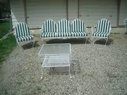 Meadowcraft Vintage Patio Yard Furniture Set