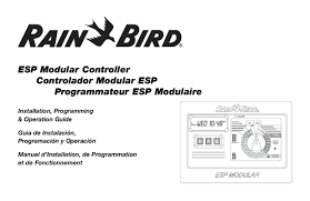 pdf] bird esp 6tm manual (28 pages) bird esp 6tm motorcycle rain bird esp-4 at Rain Bird Esp Modular Wiring Diagram