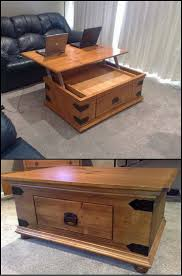 Dual Lift Top Coffee Table Teds Woodworkingr 16000 Woodworking Plans Projects With