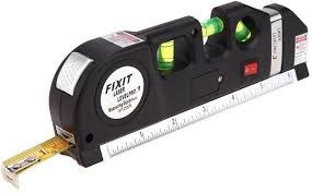 fixit laser level pro 3 multi purpose measuring tool with 2 5m tape trade me