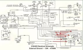 john deere 318 wiring diagram & john deere wiring diagram best of basic lawn mower wiring at John Deere 160 Garden Tractor Starter Switch Wiring Diagram