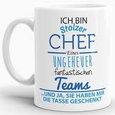 Tasse Stolzer Chef 795