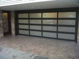 sliding glass garage doors. Image Of: Adorable 25 Mid Century Modern Garage Doors Design Inspiration Of Within Glass Sliding
