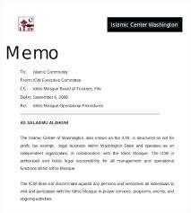 Business Memo Templates Memorandum Of Understanding Sample Template ...