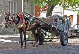 Resultado de imagen para carros con caballos
