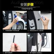 9 of 12 new 500cm black car door moulding rubber scratch protector strip edge guard trim