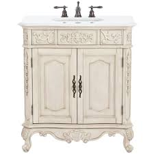 Home Decorators Collection Winslow 33 in. W Bath Vanity in Antique ...