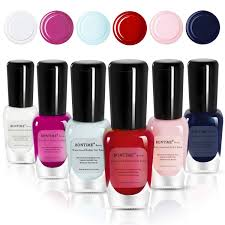 bontime non toxic nail polish easy l off quick dry organic water