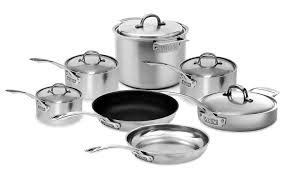 viking cookware set. Wonderful Set Viking V7 Stainless Steel Cookware Set 12piece On C