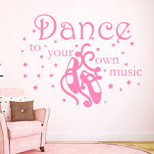 Small Picture Popular Dance Decals Quotes Buy Cheap Dance Decals Quotes lots