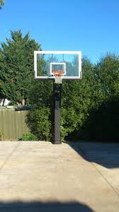 pro dunk hoops. Andrew R\u0027s Pro Dunk Diamond Basketball System On A 30x40 In Kealba, XX Traditional- Hoops L
